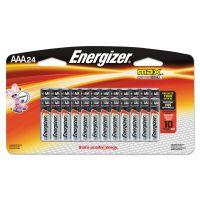 Energizer MAX Alkaline Batteries, AAA, 24 Batteries/Pack EVEE92BP24