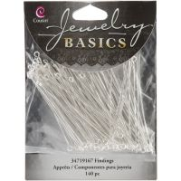 Jewelry Basics Metal Findings 140/Pkg NOTM151664