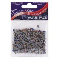 Darice Rhinestone Setter Hot-Fix Glass Stones NOTM401708