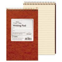 Ampad Gold Fibre Retro Wirebound Writing Pad, College/Medium, 5 x 8, Ivory, 80 Sheets TOP20007