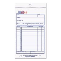 Rediform Sales Book, 3-5/8 x 6 3/8, Carbonless Duplicate, 50 Sets/Book RED5L240