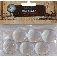 """Vintage Collection Acrylic Cabochons 1"""" 6/Pkg NOTM486392"""