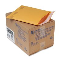Sealed Air Jiffylite Self Seal Mailer, #2, 8 1/2 x 12, Golden Brown, 25/Carton SEL10187