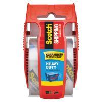 """Scotch 3850 Heavy-Duty Packaging Tape in Sure Start Disp. 1.88"""" x 800"""", Clear MMM142"""