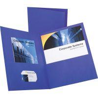 Oxford Twin-Pocket Folder, 100-Sheet Capacity, Purple, 25/Box OXF57514