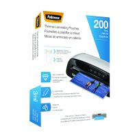 Fellowes Laminating Pouches, Letter Size, Hot Pouch, 9 x 11.5, 3 mil, 200 pack FEL5743401