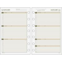 Day Runner Weekly Planner Loose-leaf Refill DRN481285Y