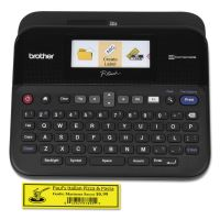 Brother P-Touch PT-D600 PC-Connectable Label Maker with Color Display, Black BRTPTD600