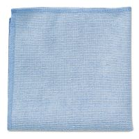 Rubbermaid Commercial Microfiber Cleaning Cloths, 16 X 16, Blue, 24/Pack RCP1820583