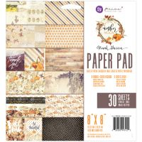 "Prima Marketing Double-Sided Paper Pad 8""X8"" 30/Pkg NOTM091736"