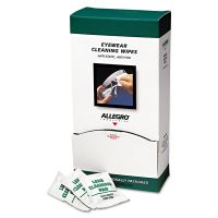 "Allegro Eyewear Cleaning Wipes, 5 in x 8"", White, 100/Box ALG0350"
