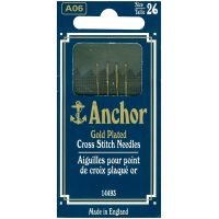 Anchor Gold-Plated Cross Stitch Needles NOTM073143