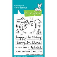 """Lawn Fawn Clear Stamps 3""""X4"""" NOTM486005"""