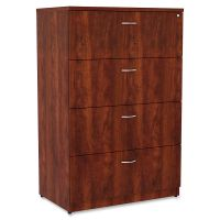 Lorell Essentials 4-Drawer Lateral File Cabinet LLR34387