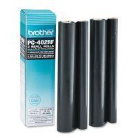 Brother PC402RF Thermal Transfer Refill Roll, Black, 2/PK BRTPC402RF