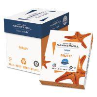 Hammermill Inkjet Paper, 96 Brightness, 24lb, 8 1/2 x 11, White, 500 Sheets/Ream HAM105050