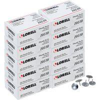 """Lorell 5/16"""" Steel Thumb Tacks LLR10110BX"""