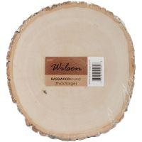 Basswood Thick Round Large NOTM137671