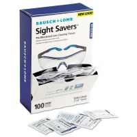 Bausch & Lomb Sight Savers Premoistened Lens Cleaning Tissues, 100 Tissues/Box BAL8574GM