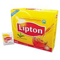 Lipton Tea Bags, Regular, 100/Box LIP291