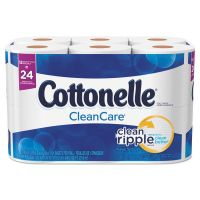 Cottonelle Ultra Soft Toilet Paper, 1-Ply, White, 4 x 4 1/10 Sheet, 165 Sheets/Roll, 12 Rolls/Pack KCC12456PK