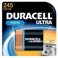 Duracell Ultra High Power Lithium Battery, 245, 6V, 1/EA DURDL245BPK