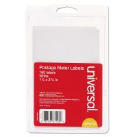 Universal Self-Adhesive Postage Meter Labels, 1-1/2w x 2-3/4 or 5-1/2, WE, 40 Sheets/Pack UNV37103