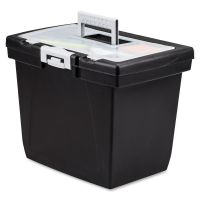 Storex Nesting Portable File Box STX61522B04C