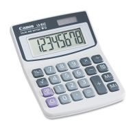 Canon LS82Z Minidesk Calculator, 8-Digit LCD CNM4075A007AA