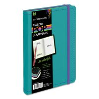 Astrobrights ColorPop Journal, College Ruled, 8 1/4 x 5 1/8, Teal, 240 Sheets NEE9883301