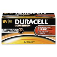 Duracell Coppertop Alkaline 9V Battery - MN1604 DUR01601