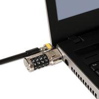 Kensington ClickSafe Combination Laptop Lock, 6ft Steel Cable, Black KMW64697