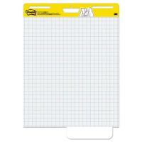 Post-it Easel Pads Self Stick Easel Pads, Quadrille, 25 x 30, White, 2 30 Sheet Pads/Carton MMM560