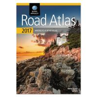 Rand McNally Road Atlas, North America+Puerto Rico, Soft Cover, 2017 AVTRM528015478