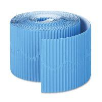 """Pacon Bordette Decorative Border, 2 1/4"""" x 50' Roll, Brite Blue PAC37176"""