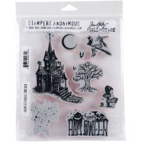 "Tim Holtz Cling Stamps 7""X8.5"" NOTM092429"