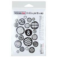 """Darkroom Door Cling Stamp 4.5""""X3"""" NOTM254853"""