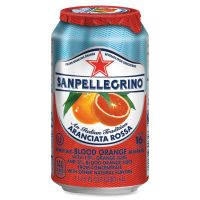 SanPellegrino Italian Sparkling Blood Orange Beverage NLE041508433495