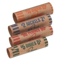 Coin Wrappers, Bill Straps & Trays