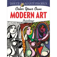 Dover Publications: Dover Masterworks Modern Art Paintings Coloring Book  NOTM163000