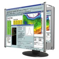 "Kantek LCD Monitor Magnifier Filter, Fits 24"" Widescreen LCD, 16:9/16:10 Aspect Ratio KTKMAG24WL"