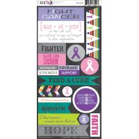 Cure For All Cardstock Stickers NOTM098296