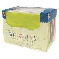 "DCWV Box Of A2 Cards & Envelopes (4.375""X5.625"") NOTM414285"