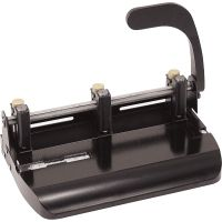 OIC Heavy-Duty Adjustable Two/Three-Hole Punch OIC90078