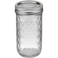 Ball Quilted Crystal Jelly Jar NOTM404285