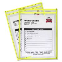 C-Line Neon Colored Stitched Shop Ticket Holder CLI43916