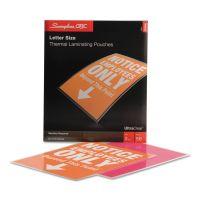 Swingline GBC UltraClear Thermal Laminating Pouches, 3 mil, 9 x 11 1/2, 50/Box SWI3745690