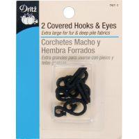 Covered Hooks & Eyes 2/Pkg NOTM090067