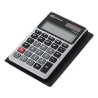Innovera Handheld Calculator, 12-Digit LCD IVR15922