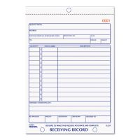 Rediform Receiving Record Book, 5 9/16 x 7 15/16, Two-Part Carbonless, 50 Sets/Book RED2L259